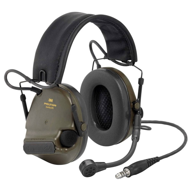 Ακουστικά 3M PELTOR ComTac XPI Headset J11 Nexus Connection with Goose-Neck Microphone, Green