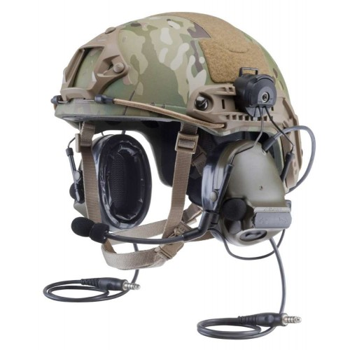 Ακουστικά 3M PELTOR ComTac XPI, Headset with Helmet Attach, Green