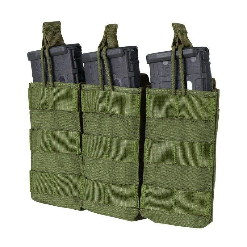 Tριπλή θήκη γεμιστήρων M4/M16 OPEN-TOP