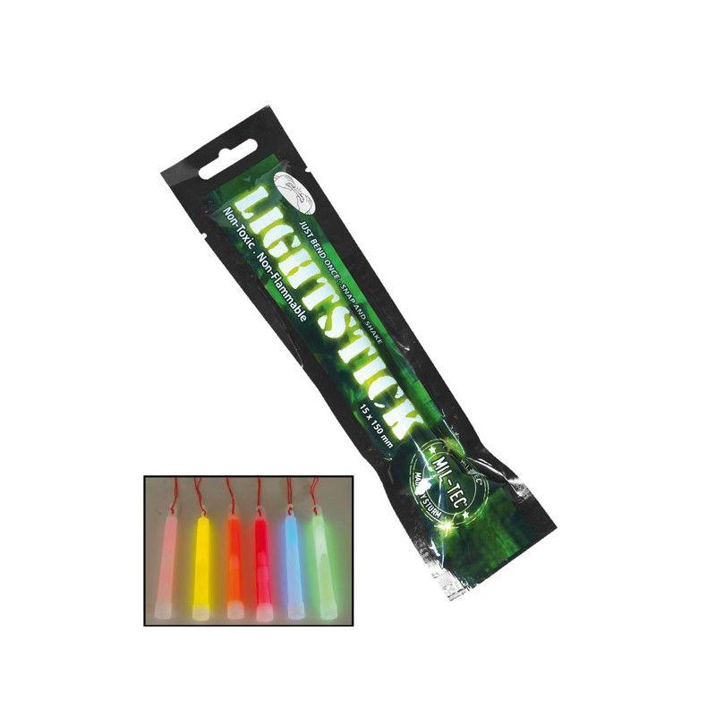 MIL-TEC Ράβδος Χημικού Φωτός 12 Ωρών 1,5 Χ 15 cm
