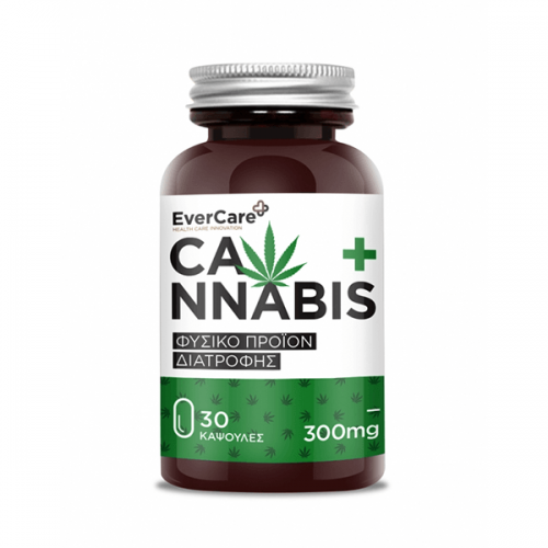 Evercare Cannabis 300 mg 30 κάψουλες