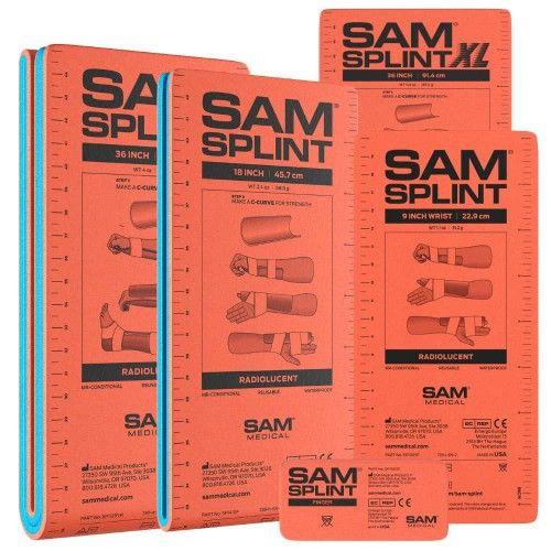 Εύπλαστοι Νάρθηκες Σετ 5 Sam Splint