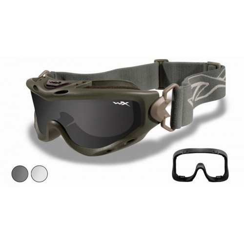 Γυαλιά Wiley X SPEAR Goggle Smoke - Clear Lens
