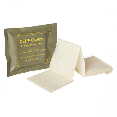 Celox Αιμοστατική Γάζα Z-Fold