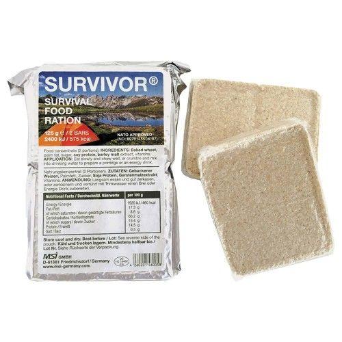 Ξηρά Τροφή Επιβίωσης Survivor