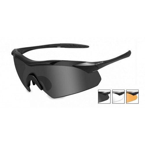 Γυαλιά ηλίου Wiley X VAPOR Grey/Clear/Light Rust Matte Black Frame