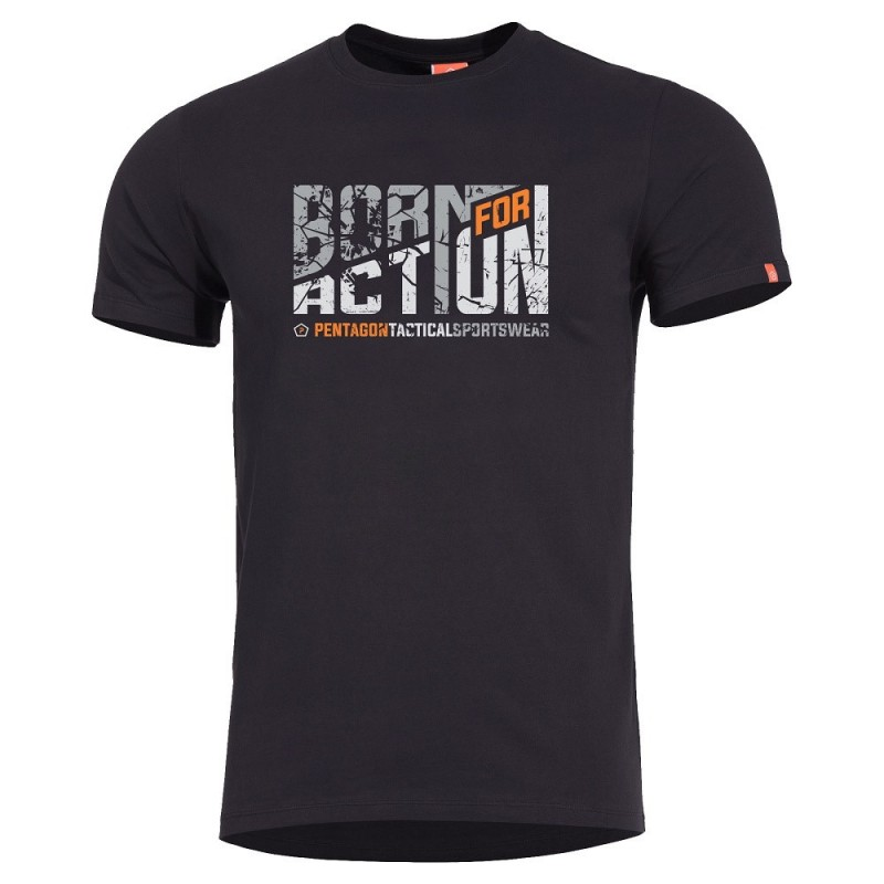 T-shirt Pentagon Ageron Born For Action