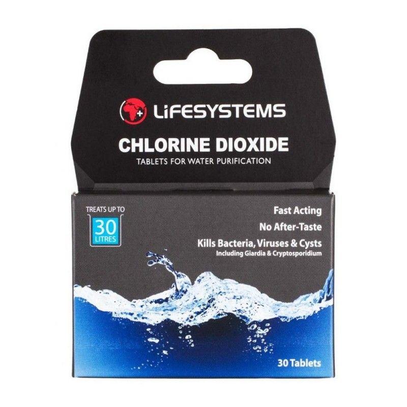 Δισκία Απολύμανσης Νερού Άοσμα Chlorine Diox Tabs