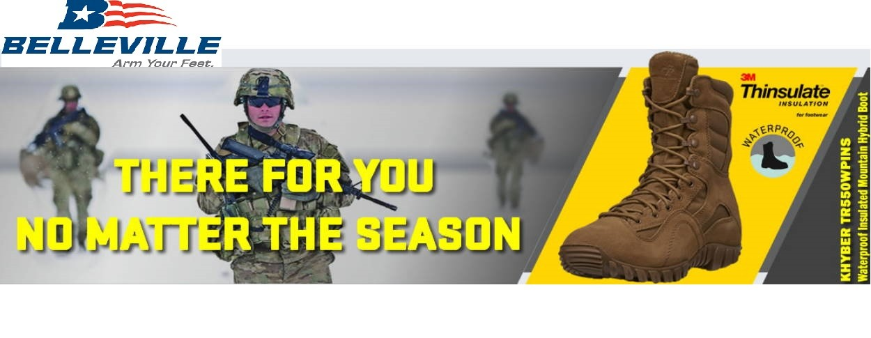 Military and Police Footwear for Heroes